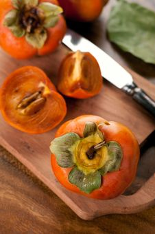 Free Persimmon Royalty Free Stock Photos - 27160008