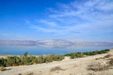 Free Landscape Of  The Dead Sea Royalty Free Stock Photography - 27160217