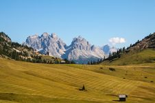 Free The View Of Dolomiti Mountain Stock Image - 27161461
