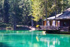 Free Rest Area Of Mountain Lake  Lago Ghedina Stock Photo - 27161480