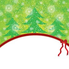 Free Abstract Winter Christmas Background Royalty Free Stock Images - 27161979