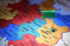 Free Germany Map Stock Photos - 27163253