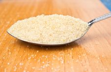 Free Cane Sugar In The Spoon Royalty Free Stock Photo - 27167045