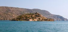 Free Crete Spinalonga Fortress Greece Royalty Free Stock Image - 27168416
