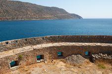 Free Crete Spinalonga Fortress Greece Stock Images - 27168654