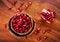 Free Ripe Pomegranate Royalty Free Stock Photos - 27160608