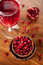 Free Pomegranate Juice And Seeds Royalty Free Stock Photos - 27160628