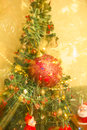 Free Christmas Tree And Decorations Royalty Free Stock Photo - 27172845