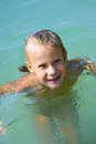 Free Little Girl In Water Royalty Free Stock Photo - 27177385