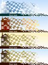 Free Home Purchase Banners Set Stock Images - 27179634