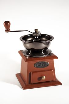 Free Coffee Mill Royalty Free Stock Images - 27173679