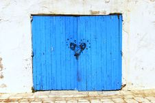Free Tunisia Doorway Royalty Free Stock Image - 27173826
