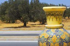 Free Tunisian Pot Stock Images - 27173874