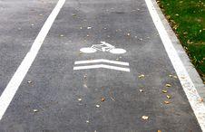 Free Bicycle Lane Stock Images - 27176014
