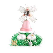Free Christmas Decorations Arrangement. Stock Image - 27176681