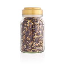 Free Herbal Tea In A Jar. Stock Image - 27176741