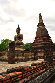 Free Sukhothai Historical Park Stock Photos - 27176913