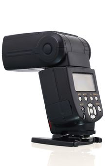 Free Camera Flash Speedlight. Stock Image - 27177041