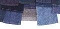 Free Isolates Of Various Leg Jeans. Stock Photos - 27184063