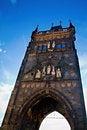 Free Bridgetower Of Charles Bridge In Prague Stock Photo - 27185640