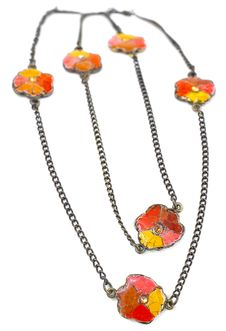 Free Vintage Flower Necklace. Stock Photo - 27180760