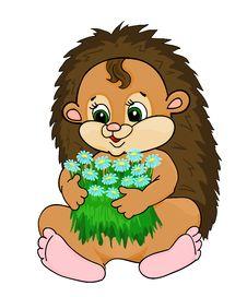 Free Cartoon Hedgehog Stock Photo - 27181600