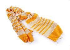 Free Yellow Scarf Stock Photos - 27183433
