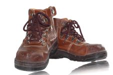 Free Old Brown Boots Stock Photos - 27185673