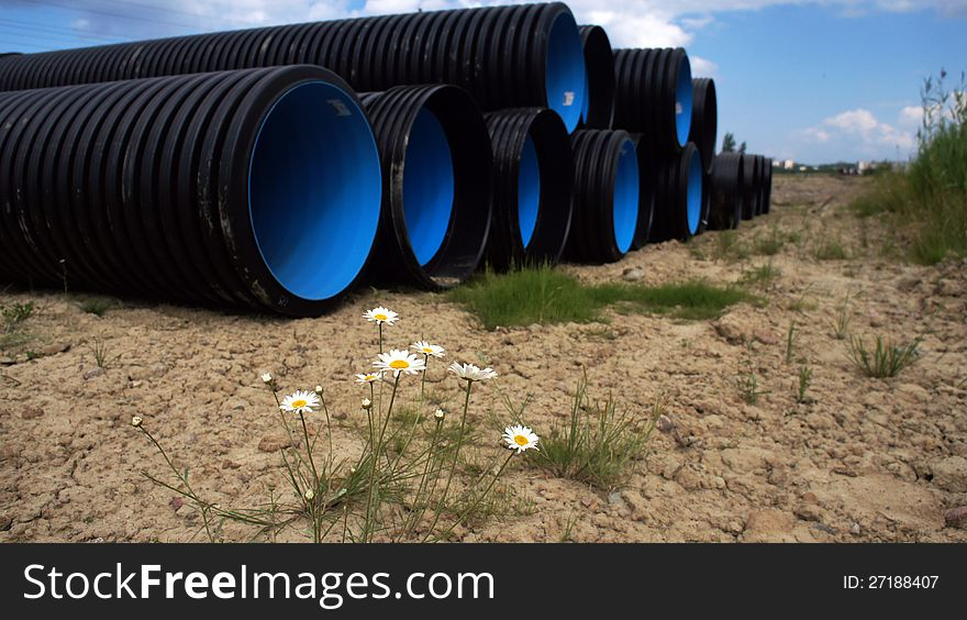 double wall corrugated pipes KORSIS PRO SN16