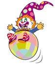 Free Clown Toy Royalty Free Stock Photos - 27196938