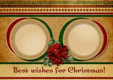 Free Christmas Greeting Card Royalty Free Stock Images - 27190479