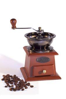 Free Vintage Coffee Mill Royalty Free Stock Photo - 27191455
