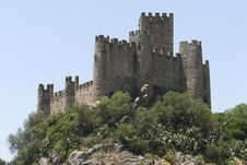 Free Castle Of Almourol Royalty Free Stock Photography - 27192407