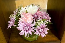Jar Flowers Royalty Free Stock Photos