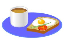 Free Breakfast Royalty Free Stock Images - 27195449
