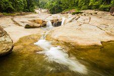 Free Phromlok Waterfall At Thailand Royalty Free Stock Photo - 27196065