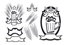Free Beer Logotype Royalty Free Stock Images - 27197059