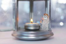 Christmas Decoration With Angel Royalty Free Stock Photos