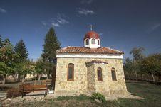 Free Small Bulgarian Church. Stock Photos - 27197683