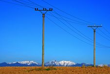Free Electric Power Transmission Royalty Free Stock Images - 27197859