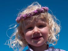 Free Happy Smiling Little Girl Stock Photography - 27199362