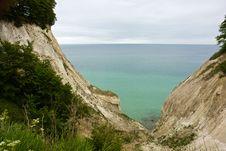 Free The White Cliffs Of Moen In Denmark Stock Images - 27199634