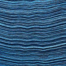 Free Stack Of Blue Napkins Stock Photo - 2720020