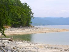 Free Exposed Banks Of Lake Jocassee Royalty Free Stock Photo - 2720045