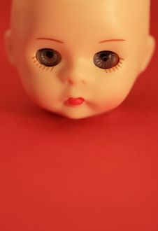 Free Doll Face Macro Stock Image - 2720081