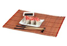 Free Sushi Dinner Royalty Free Stock Photo - 2721145
