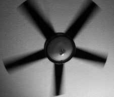 Free Spinning Fan Royalty Free Stock Images - 2722649
