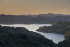 Free Mountain Lake At Sunrise Royalty Free Stock Photos - 2723328
