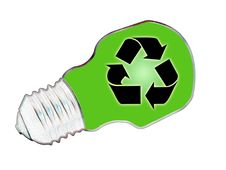 Free Recycle Bulb Stock Photos - 2724673