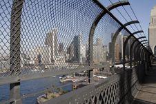 Free Sydney Harbor Bridge Walkway Stock Photo - 2725060